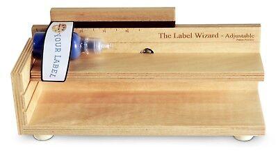 The Label Wizard- Adjustable Bottle Labeler Jar Labeler Label Applicator