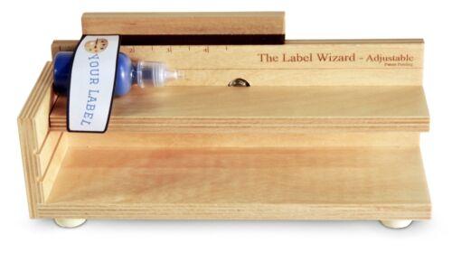 The Label Wizard- Adjustable, Bottle Labeler, jar labeler, label applicator