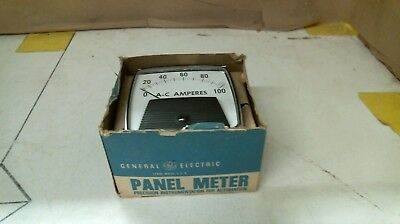 General Electric Panel Meter 50-162141lspk2 100a