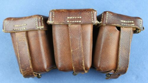 German WWI made Mauser ammo pouch. Finnish Civil guard used and S.Y 1923 marked.
