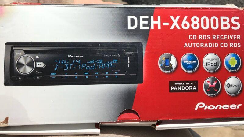 Pioneer DEH-X6800BS Auto Radio Bluetooth CD RDS Receiver Autoradio
