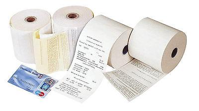 Additions- und Kassenrollen, 1-fach, mit rotem Endwarnstreifen, 57x66x12 mm, 40