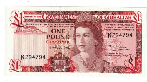 GIBRALTAR Pound 1979  P20.b UNC