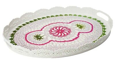 Uniware Kitchen Serving Tray, BPA Free, MADE IN TURKEY Dishwasher Safe Oval Serving Tray