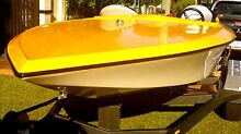 LOOK AT ANY RESPECTIVE OFFERS MONSTER 468 BIG BLOCK RACE/SKI BOAT Redcliffe Redcliffe Area Preview