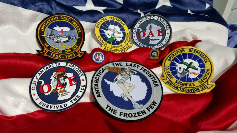Antarctica Patch Package - Various Patches Limited Supplies