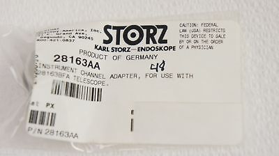 Karl Storz 28163aa Instrument Channel Adapter For Use With 28163bfa Telescope