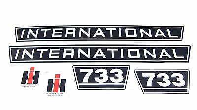 Aufklebersatz / Aufkleber / Decal Kit / Emblem passend für Case IH / IHC 733