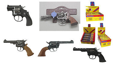 Pistole Kinder Spielzeugpistole Revolver Spielzeug Schuss Knall Cowboy Karneval