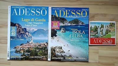 Adesso Italienisch Magazin Zeitschrift März und April 2017, Audio  November 2016
