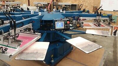 Mr Sportsman Ex 16x18 Automatic Screen Printing Press
