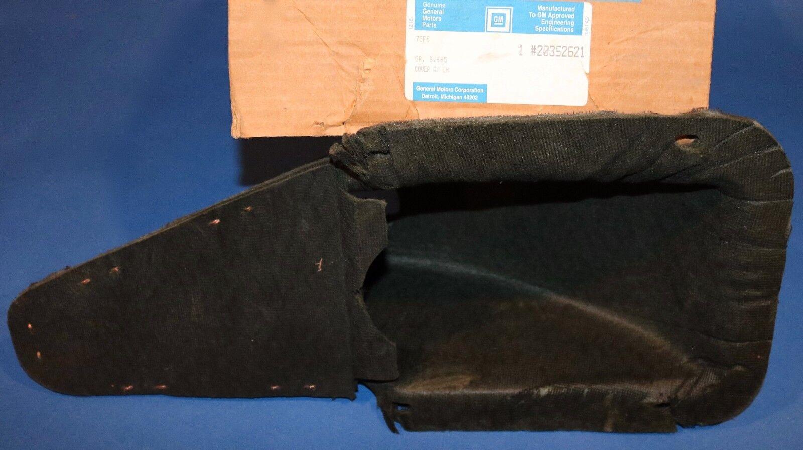 1989 1990 1991 1992 Pontiac Firebird Camero speaker grill, NOS GM # 20352621