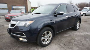 2010 Acura MDX LEATHER, SUNROOF, 7 SEATER, BACK UP CAMERA