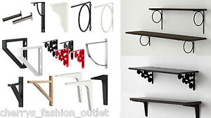 ikea ekby wall shelf brackets large collection valter lerberg tore stodis ebay. Black Bedroom Furniture Sets. Home Design Ideas