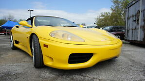 2000 Ferrari 360 SPIDER, 6 SPEED GATED SHIFTER