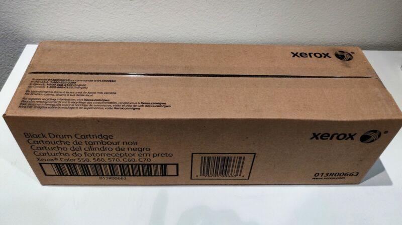 OEM Xerox 013R00663 Black Drum Cartridge - NIB GENUINE SEALED