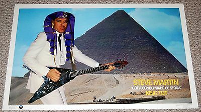 STEVE MARTIN King Tut Got A Condo Made Of Stona 1979 Poster Aspen Comedian (King Tut Steve Martin)