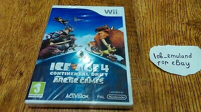 Ice Age 4: Continental Drift - Arctic Games for Nintendo Wii *BRAND NEW* UK (Ice Age 4 Continental Drift Arctic Games)