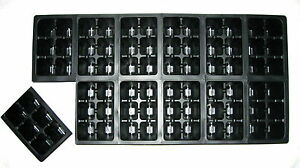 144 CELLS - SEED STARTING TRAY INSERTS - GREENHOUSE SUPPLIES - SEED PROPAGATION!