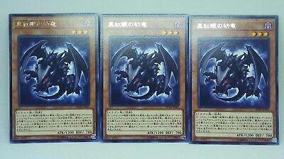 Yu-Gi-Oh DP18-JP001 x3 Red-Eyes Baby Dragon  Rare JAPANESE