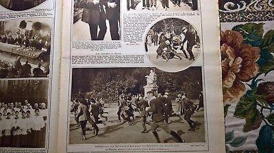 1922 Illustrierte 43 Berlin Unruhen Alba Iulia Siebenbürgen Lenin Rüti Rorschach