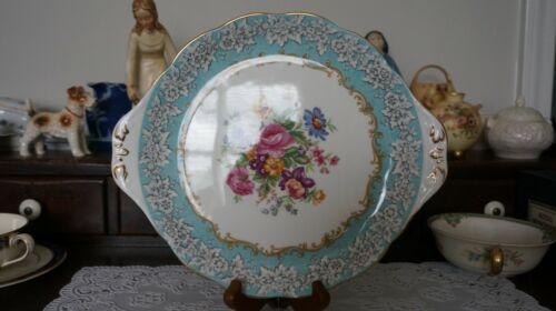 VINTAGE Royal Albert Enchantment Handled Cake Plate, England