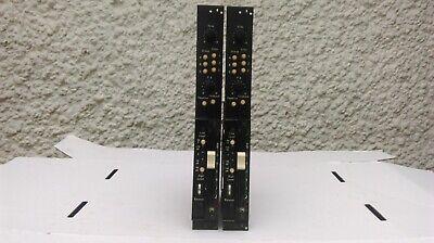 PYE ELECTRONICS LTD 1960's VINTAGE MONO MIC PRE CHANNELS x 2 (PAIR) - SERVICED