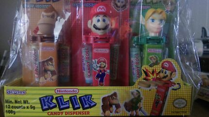 Nintendo and Nickelodeon collectable candy North Adelaide Adelaide City Preview