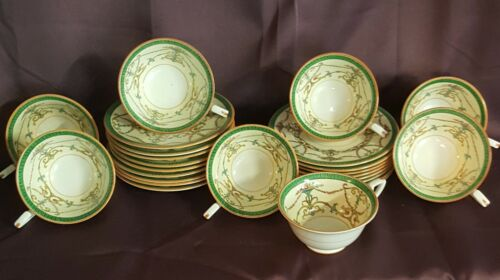 Royal Worcester china Bessborough green