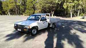 Toyota hilux 1988 5 speed manual tray back Woodgate Bundaberg Surrounds Preview