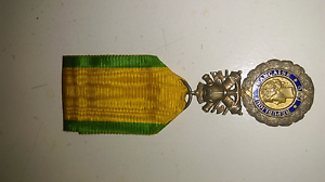France Valor Discipline 1870 WWI Military Medal French Decoration Koongamia Swan Area Preview