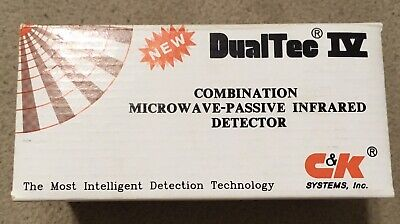 Dt450t 50 X40 Ck Dualtec Iv Combination Microwave-passive Infrared Detector