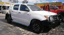 2007 Toyota Hilux SR 4x4 Dual Cab Chassis Turbo Diesel Manual Kallangur Pine Rivers Area Preview