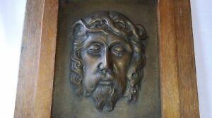 ANCIEN-TABLEAU-EN-DINANDERIE-034-JESUS-CHRIST-034-de-M-HAAGUEN-signee-vers-1930