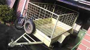 boxed an caged trailer for sale West Footscray Maribyrnong Area Preview
