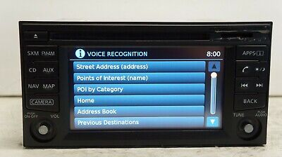 *READ*2015 Nissan Sentra Navigation SXM BlueTooth CD Player Radio OEM 259159JE0B