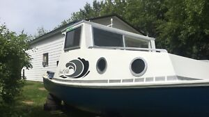 23 ft cape with trailer