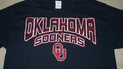 Oklahoma Sooners Ncaa Football T Shirt Size Med Mens Womens Classic Logo