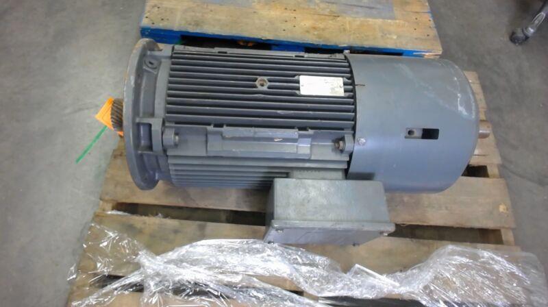 Sew Eurodrive 2 Speed Brake Motor Dfv180L8/4Bm30Hrtf2W, 10/20 Hp, 870/1760 Rpm,