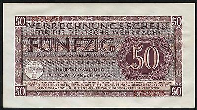 Ro.514 50 Reichsmark 1944 Wehrmacht  (1/1-)
