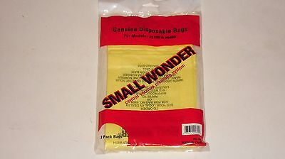 Vacuflo Small Wonder Central Vacuum Cleaner Paper Bags 3 Pk Part - 4908