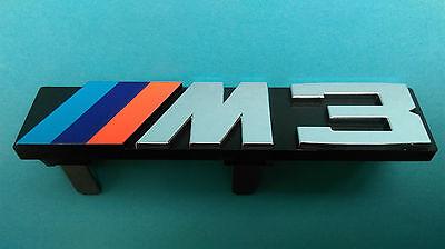 Kyпить Genuine BMW E30 M3 Front grille M3 badge logo emblem 51141934620 на еВаy.соm