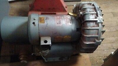 1 Used Gast Regenair Model R7100a-3 Blower W J1210b 10 Hp Baldor Motor