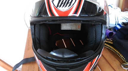 THH Fullface Motorcycle Helmet