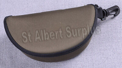 CANADIAN ARMY SHOOTING GLASSES CASE - EXCELLENT - (Glasses Cases Canada)