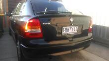 2004 Holden Astra Hatchback Maribyrnong Area Preview