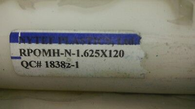 1.625 1.5 Diameter X 12 Natural Color Acetal Rod Delrin Plastic Bar Round