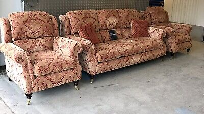 Parker Knoll Oakham 3 Seater Sofa With 2x Armchairs £4495