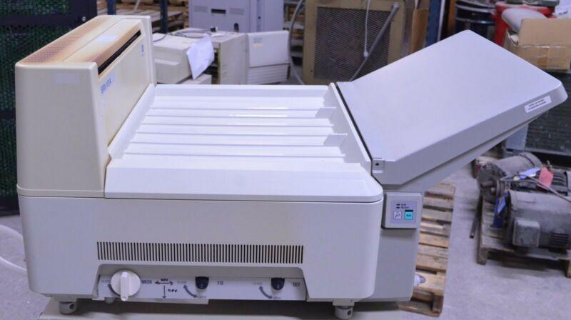 """Konica Minolta SRX-101A Tabletop X-Ray Radiograph Film Processor 14x17"""" w/ Stand"""