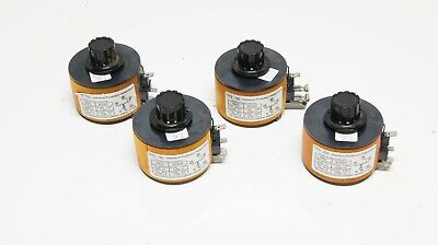 Lot Of 4x Superior Electric Type 10c Powerstat Variable Transformer Used